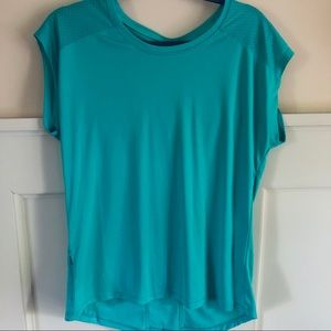 Teal Champion Workout Top